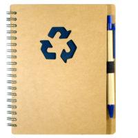 bloco com Logo reciclavel