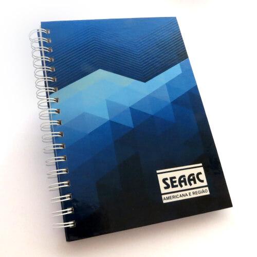 Cadernos Personalizados em offset 17×24 cm