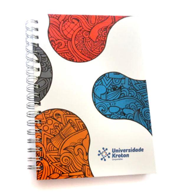 Cadernos Personalizados em offset para brindes
