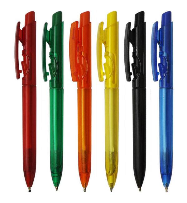 caneta plastica mod. 1097-3002 transparente