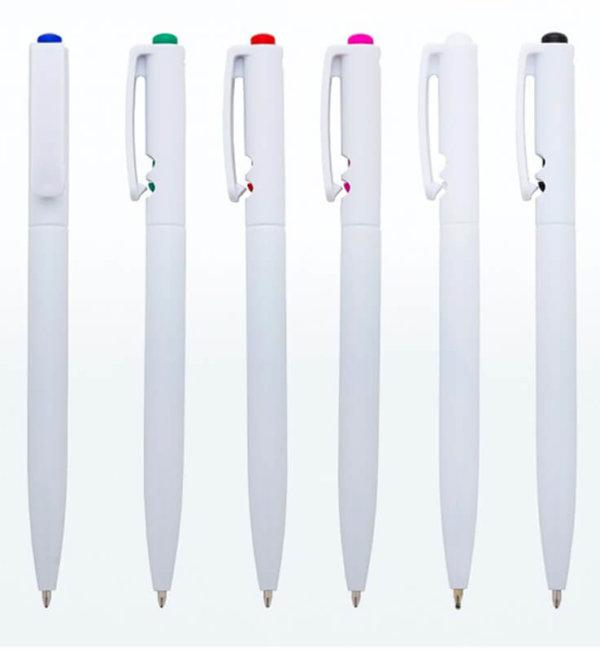 canetas personalizadas plastica mod. 13300