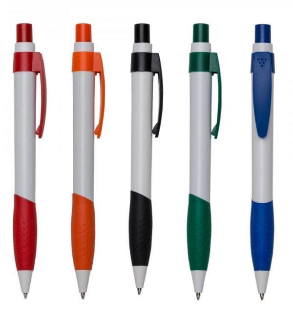 canetas personalizadas plastica mod. 13555